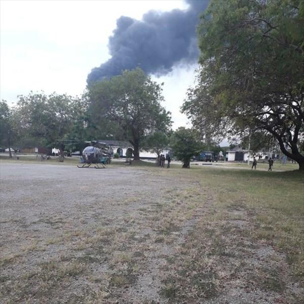 حمله به پایگاه نظامی آمریکا در آفریقا +تصویر
